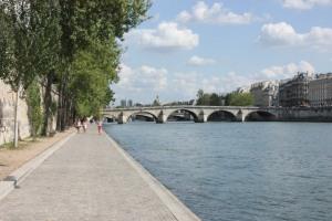 Strolling Along the Seine - Paris