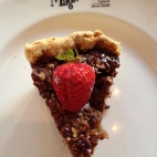 Southern Pecan Pie...with strawberry!